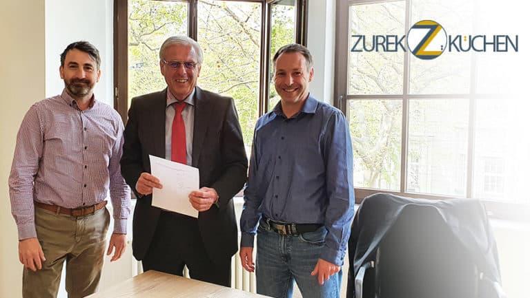 Generationswechsel bei Zurek Umzüge / Zurek Küchen